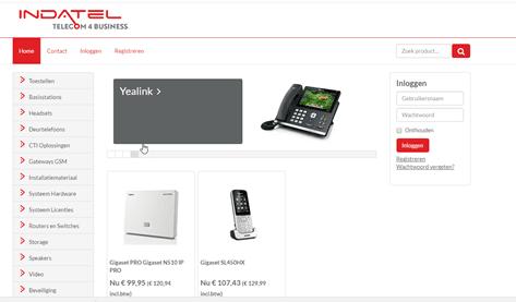 webshop indatel telecom