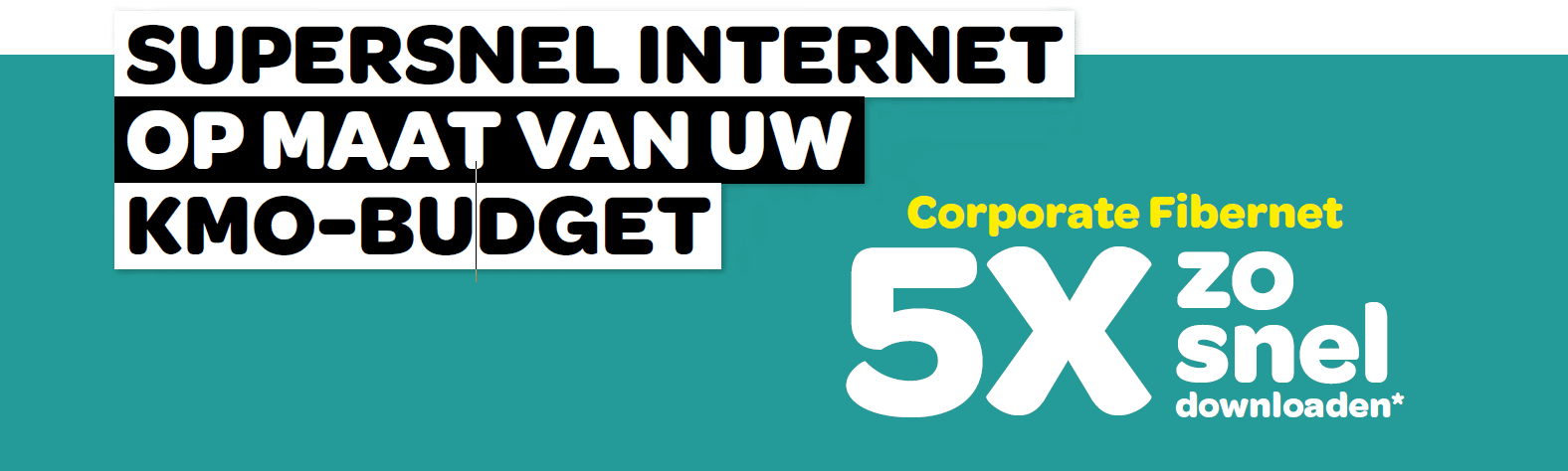 Supersnel internet